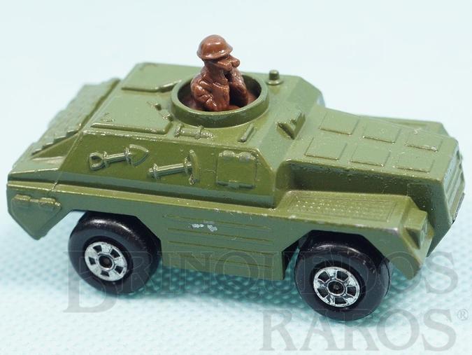 Brinquedo antigo Stoat Rola-Matics verde