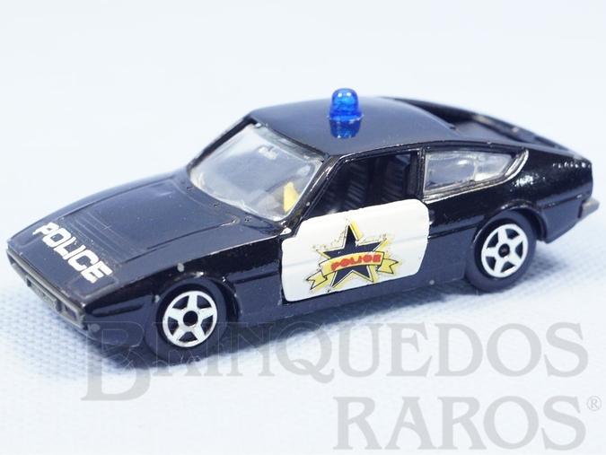 Brinquedo antigo Talbot Matra Baghera Polícia Norev brésilienne Década de 1970