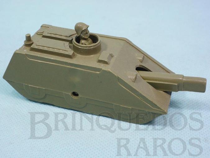Brinquedo antigo Tanque de Guerra com 12,00 cm de comprimento Década de 1960