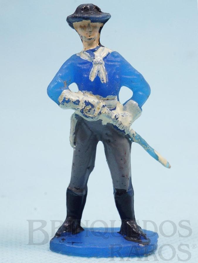 Brinquedo antigo Tenente Rip Masters da Sétima Cavalaria desembainhando o sabre Casablanca numerado 11