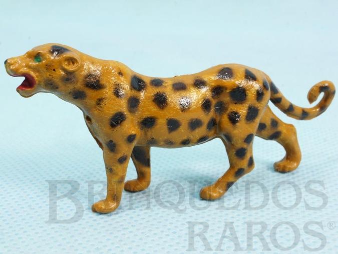 Brinquedo antigo Leopardo Década de 1960