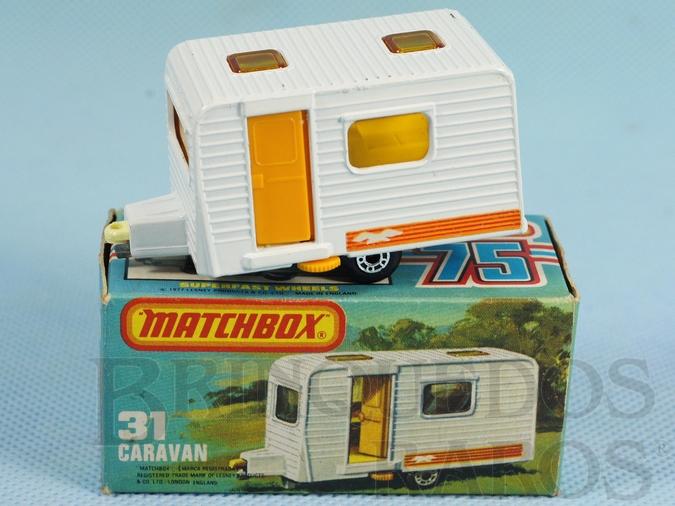 Brinquedo antigo Trailer Caravan Superfast