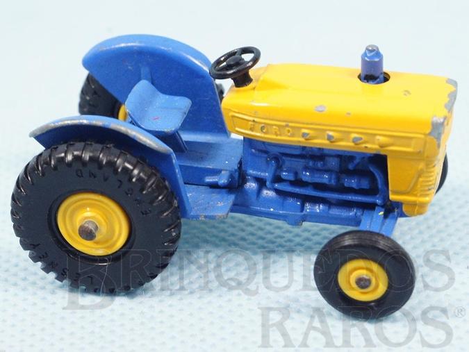 Brinquedo antigo Trator Ford Tractor Black Plastic Regular Wheels