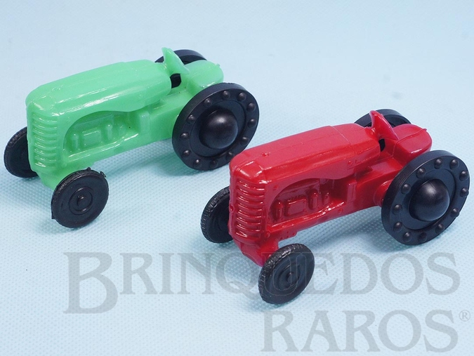 Brinquedo antigo Trator Massey-Harris 44 com 10,00 cm de comprimento Década de 1970 Preço por unidade