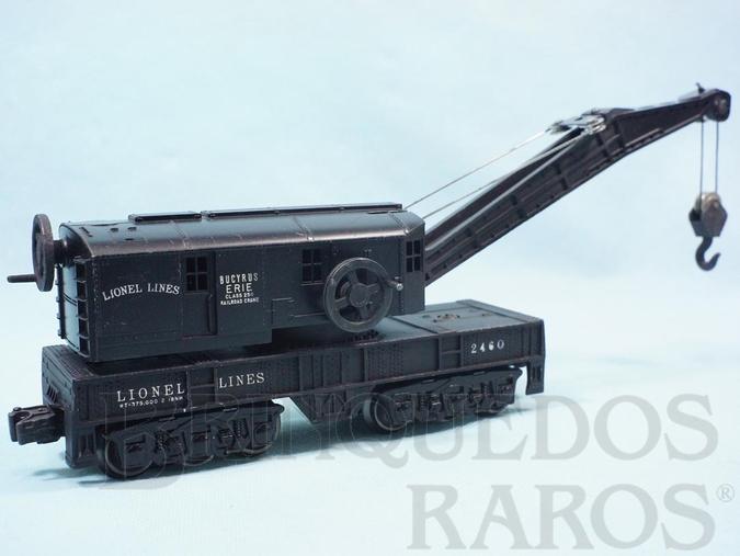 Brinquedo antigo Vagão 2460 Bucyrus Erie Crane Ano 1945 a 1950