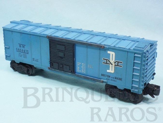 Brinquedo antigo Vagão 6464475 Box Boston and Maine Ano 1956