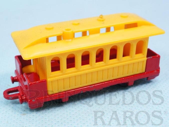 Brinquedo antigo Vagão Passenger Coach Série Wild West Brazilian Corgi Jr Kiko Década de 1980