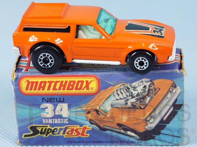 Brinquedo antigo Vantastic Superfast