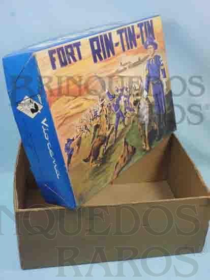 Brinquedo antigo Viocena Caixa Forte Rin Tin Tin Década de 1970