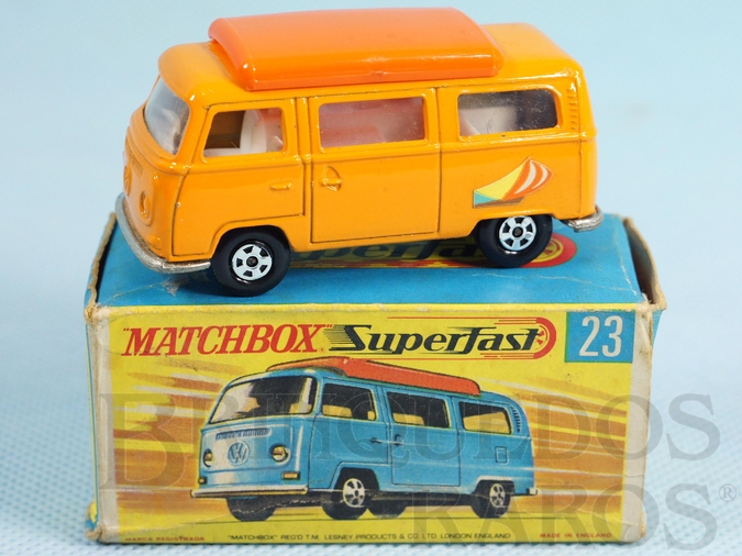 Brinquedo antigo Volkswagen Camper Transitional Weels