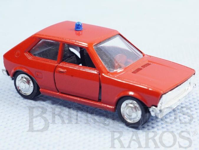Brinquedo antigo Volkswagen Gol L vermelho Schuco Modell Brasilianische Schuco Rei
