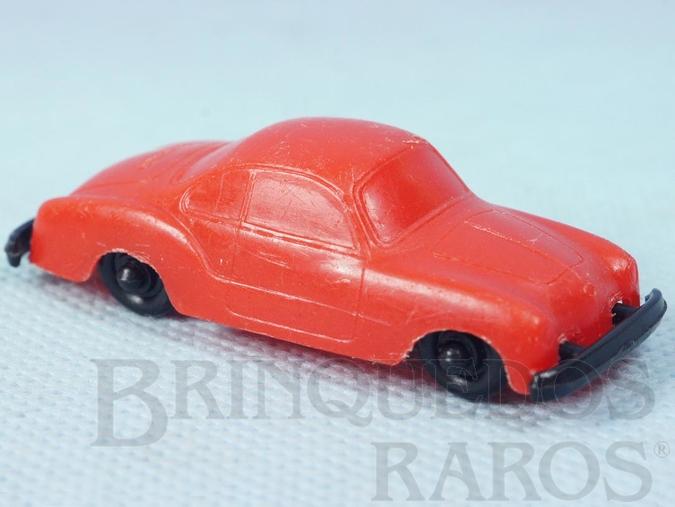 Brinquedo antigo Volkswagen Karmann Ghia com 6,00 cm de comprimento brinde Toddy autentico Chassi Trol Toddy Década de 1960