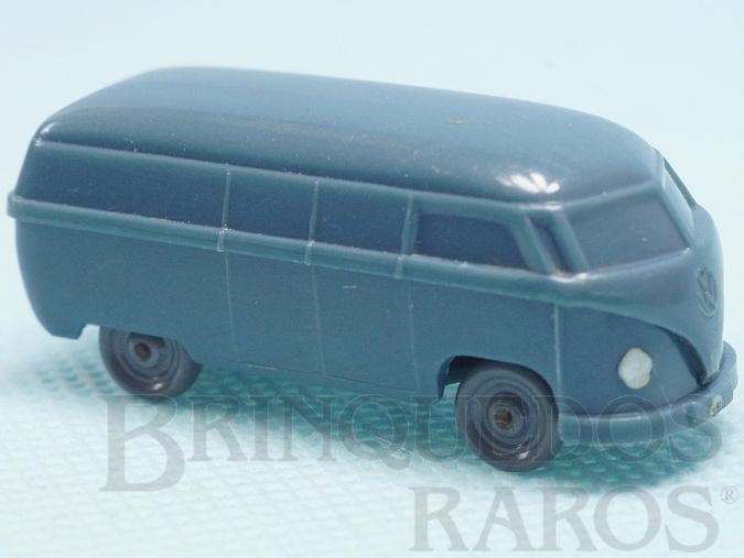 Brinquedo antigo Volkswagen Kombi Furgão Janelas Sólidas Década de 1950