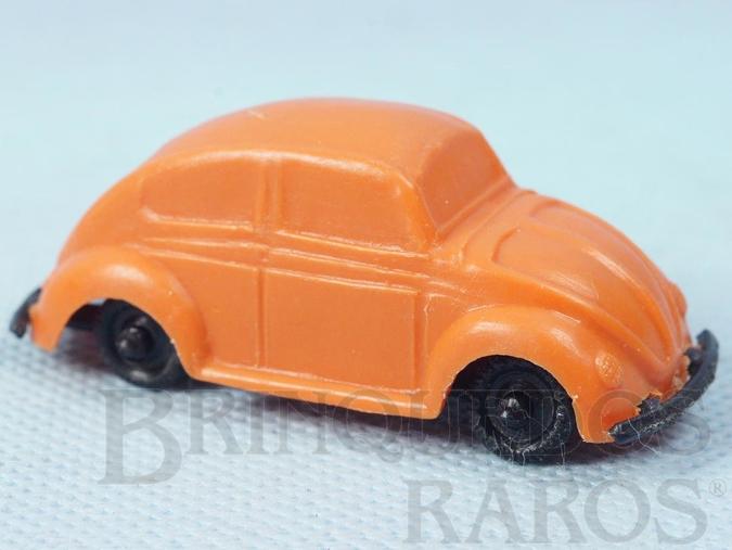 Brinquedo antigo Volkswagen Sedan com 6,00 cm de comprimento Brinde Toddy autentico Carroceria numerada 12 e chassi numerado 12 escrito Toddy Década de 1960