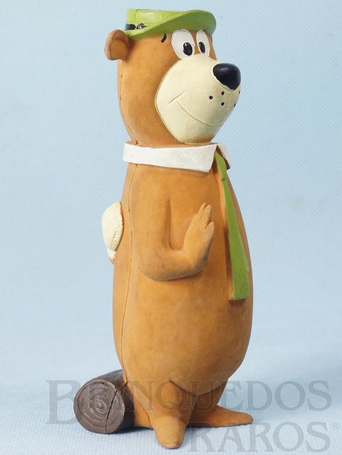 Brinquedo antigo Zé Colmeia com Apito 14,00 cm de altura Hanna Barbera Ano 1988